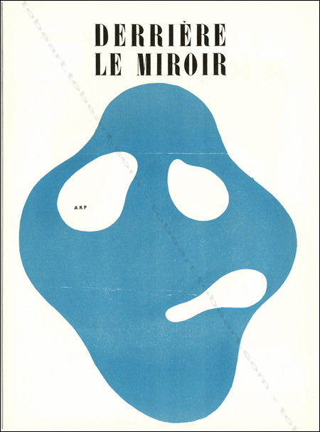 Hans ARP - DERRIERE LE MIROIR N°33. Paris, Maeght, 1950.