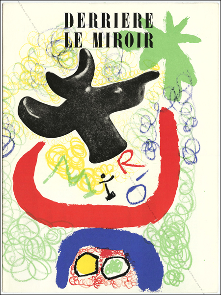 Joan MIRO - DERRIERE LE MIROIR N°29-30. Paris, Maeght, 1950.