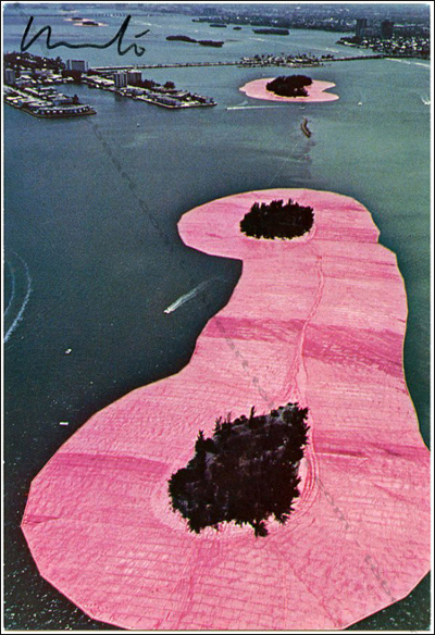 CHRISTO et Jeanne-Claude - Surrounded Islands, 1980-83.