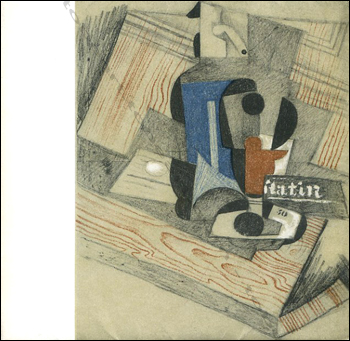 Juan GRIS - Dessins et gouaches 1910-1927. Paris, Galerie Louise Leiris, 1965.