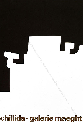 Eduardo CHILLIDA - Affiche originale. Paris, Galerie Maeght, 1973.