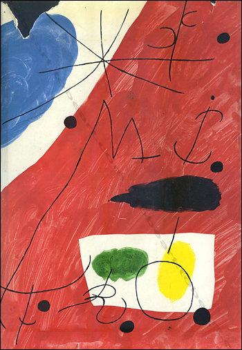 Joan Miro - Paris, Flammarion, 1961.