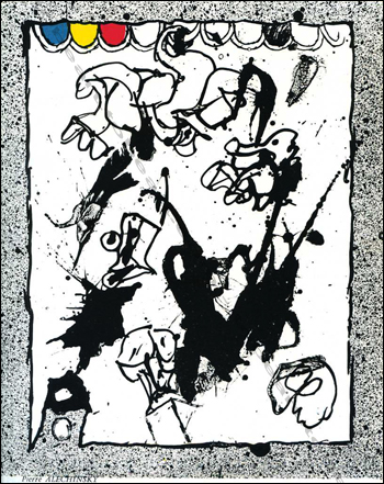 The Situationist Times N°6. Lithographie de Pierre Alechinsky.